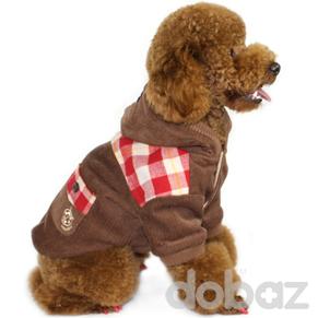 Hundjacka Presly Brown - Hundjacka presly brown S
