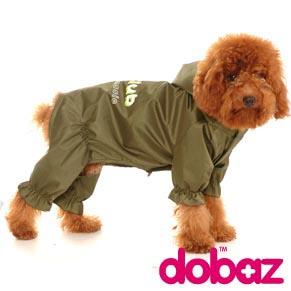 Grön Regnjacka - Hundregnjacka grön 4XL