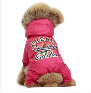 Cute Winter Jumpsuit Pink - Cute wintwer jumpsuit XL