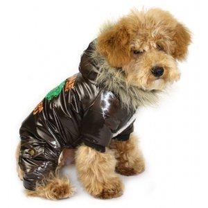 Hundovreall cool stuff brun - Cool stuff brun XL