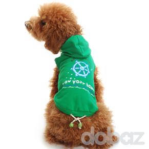 Hoodie Grön - Hoodie grön S