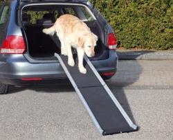 amp Petwalk, hopfällbar, 38x155 cm, alu/plast, svart - amp Petwalk, hopfällbar, 38x155 cm, alu/plast, svart