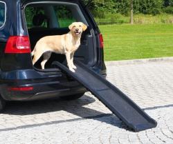 Ramp Petwalk, hopfällbar, 40x156 cm, plast, svart - Ramp Petwalk, hopfällbar, 40x156 cm, plast, svart