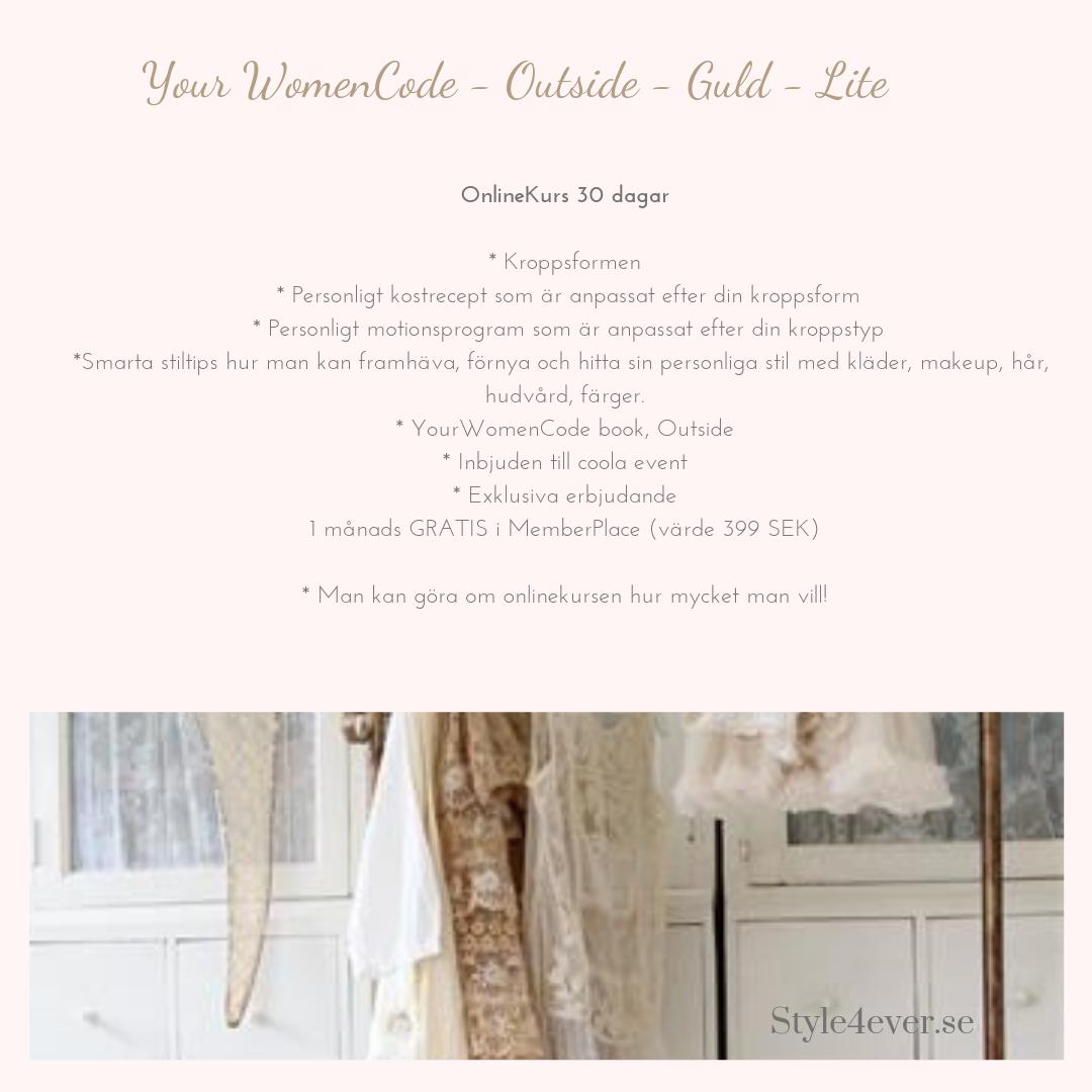 Your WomenCode - Guld-lite