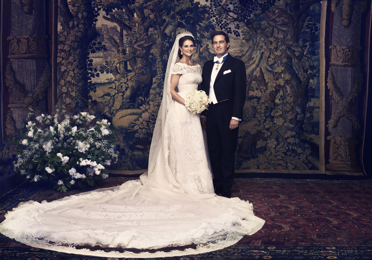 e73ad9d836e8 Prinsessan Madeleines brudklänning | EcoBride - Inspiration för ...
