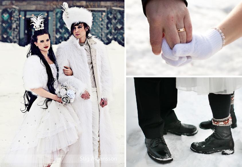 108126ed8d2a Pärlor bryter av snyggt mot vita varma vantar och matchar snön. Köp  handstickat och ekologiskt. Leta pärlor i second hand butiker, på auktion  eller bland ...