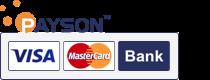 Med Paysons betalsystem handlar du tryggt i vår webbshop.