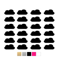 Wall stickers Moln - Valfri färg