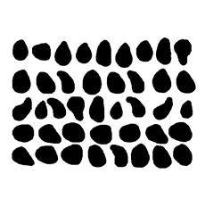 Wall stickers - Dalmatin fläckar - Svart
