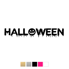 Wall stickers - Halloween - 27cm svart