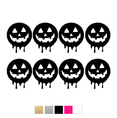 Wall stickers - Halloween pumpor