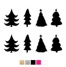 Julgranar till julkula - svart