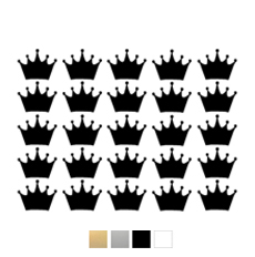 Wall stickers Kronor