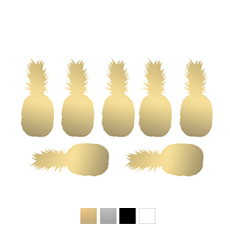 Wall stickers - Ananas