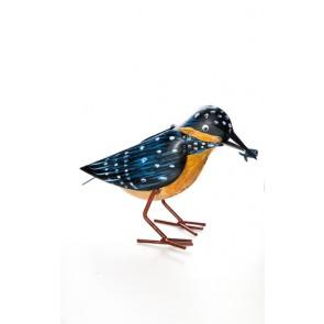Plåtfågel orange -