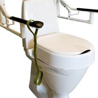 Fasta toalett handtag