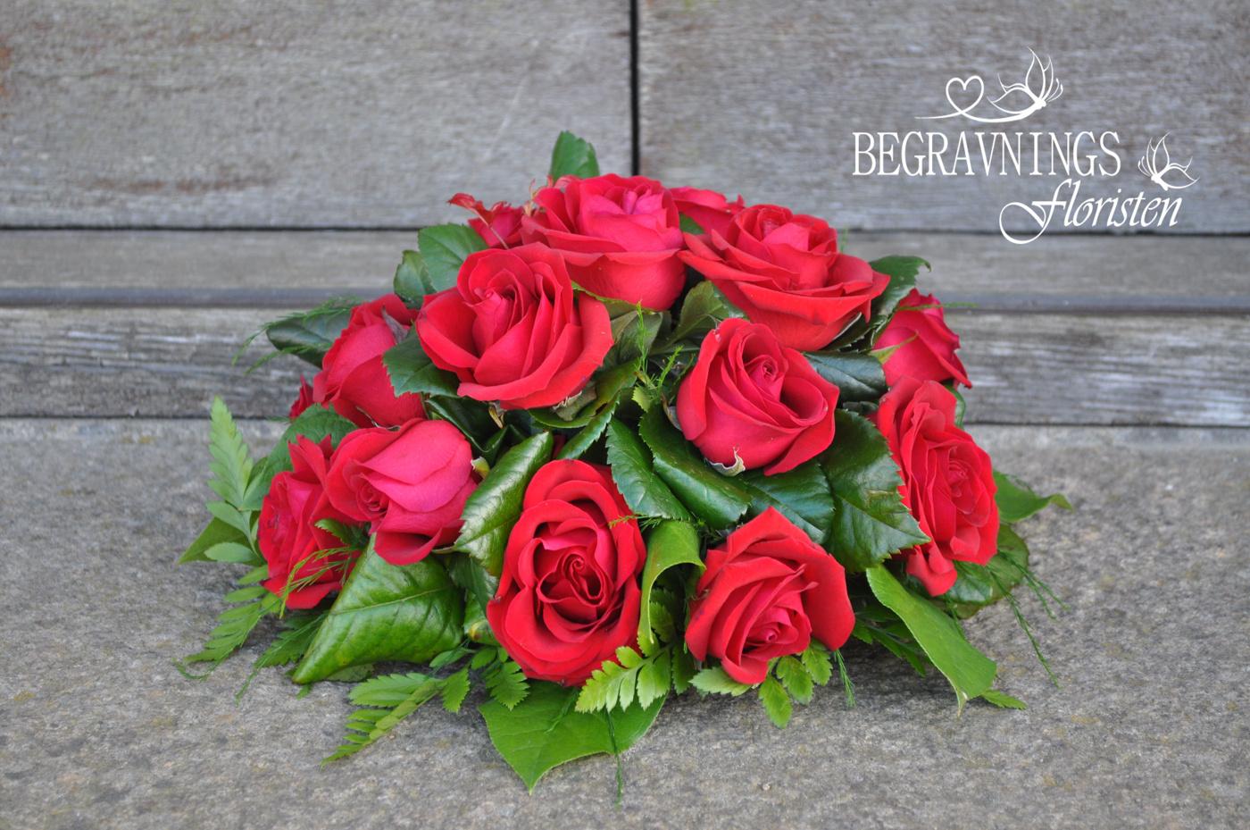 runt arrangemang rosor