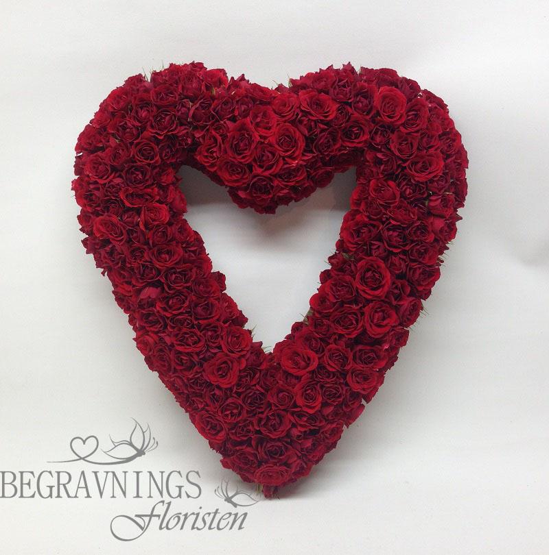 hjärta-rosor-begravning