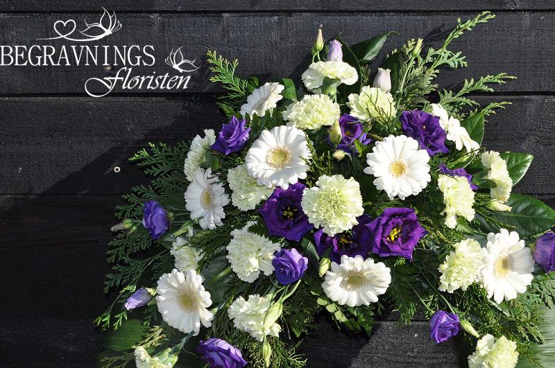 begravningsblommor-gerbera-nejlikor
