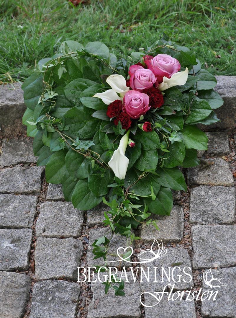 Begravningshjarta-rosor-callor