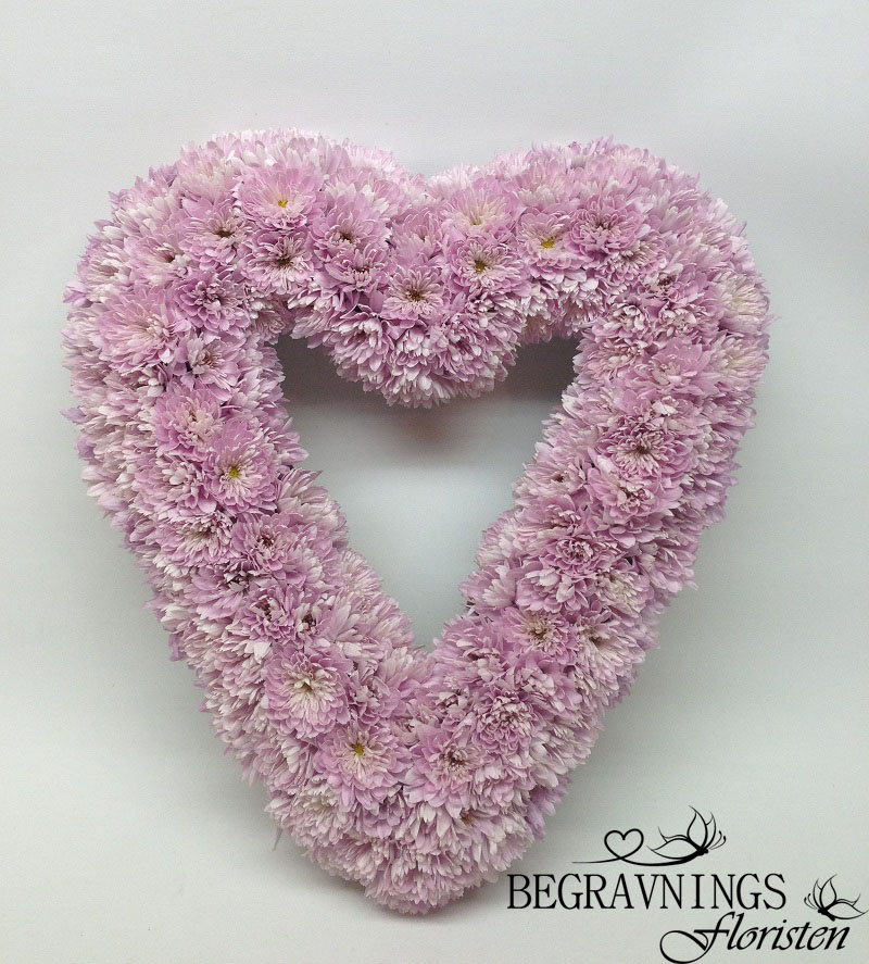begravningshjärta-rosa-kryss