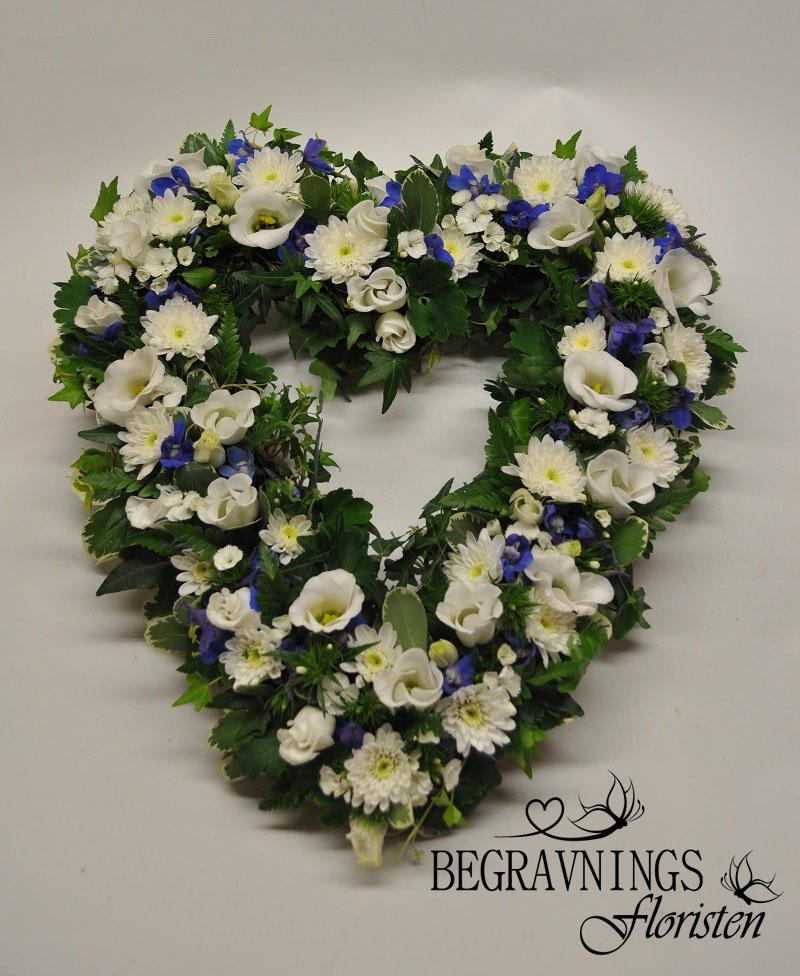 begravningshjärta-blått-vitt-grönt