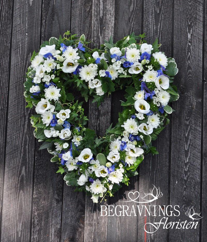 begravningsblommor-hjärta