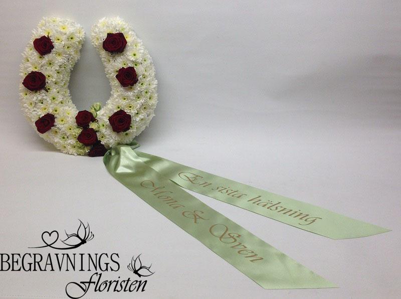 hästsko-blommor-band-begravning