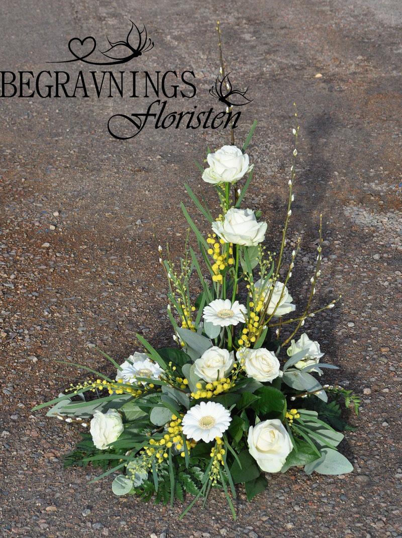 begravningsblomma-ros-gerbera