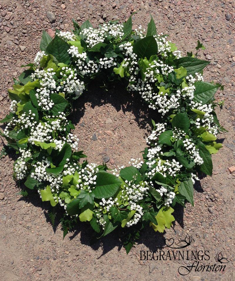 begravningskrans-brudslöja-grönt