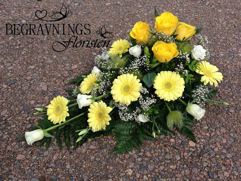 begravningsblomma-gula-rosor