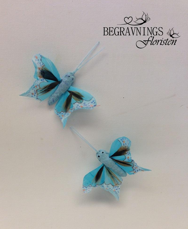 Turkosblå fjäril