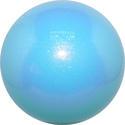 Boll m glitter 16 cm, Pastorelli - Ljus blå/glitter