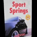 Sportfjädrar/Sänksats Audi A4 Avant Quattro 1,8T/ 01-08