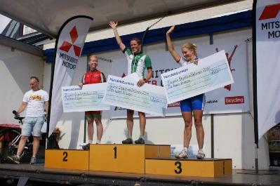1:a Hanna Bergman, Falu CK. 2:a Louise Bergfeldt, Mora CK. 3:a Linda Olsson, SMACK.