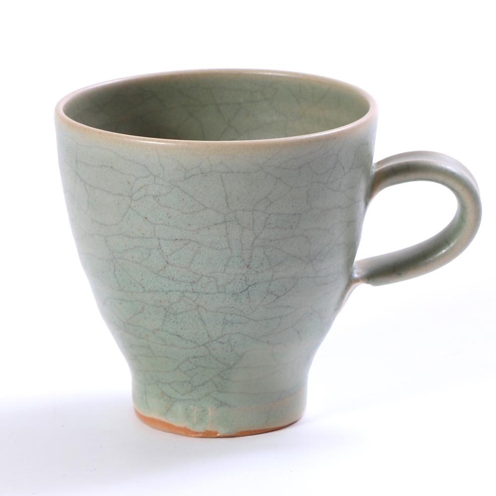 Kaffekopp grön