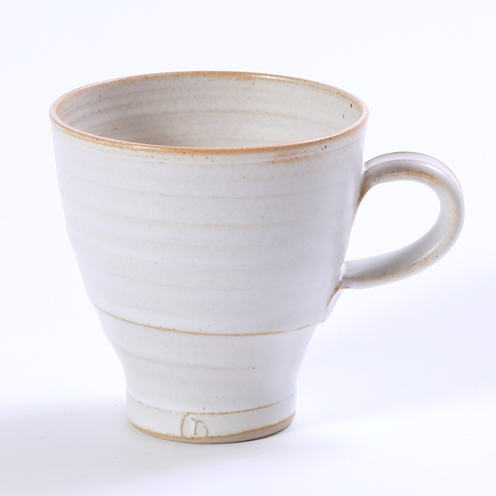 Kaffekopp vit