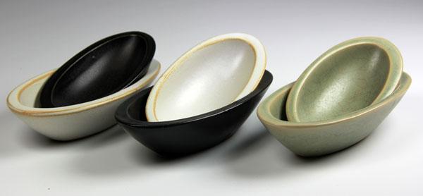 Oliv-skålar