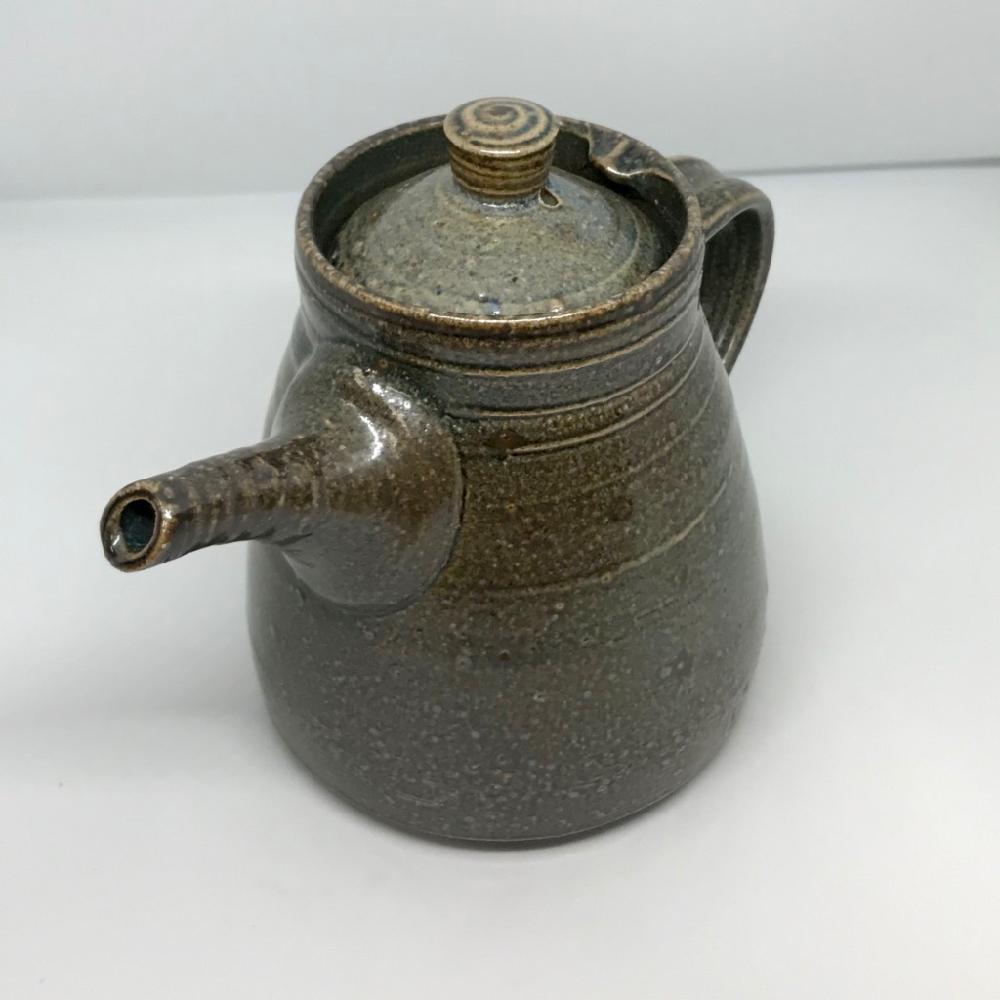 Tekanna 1 lit grågrön