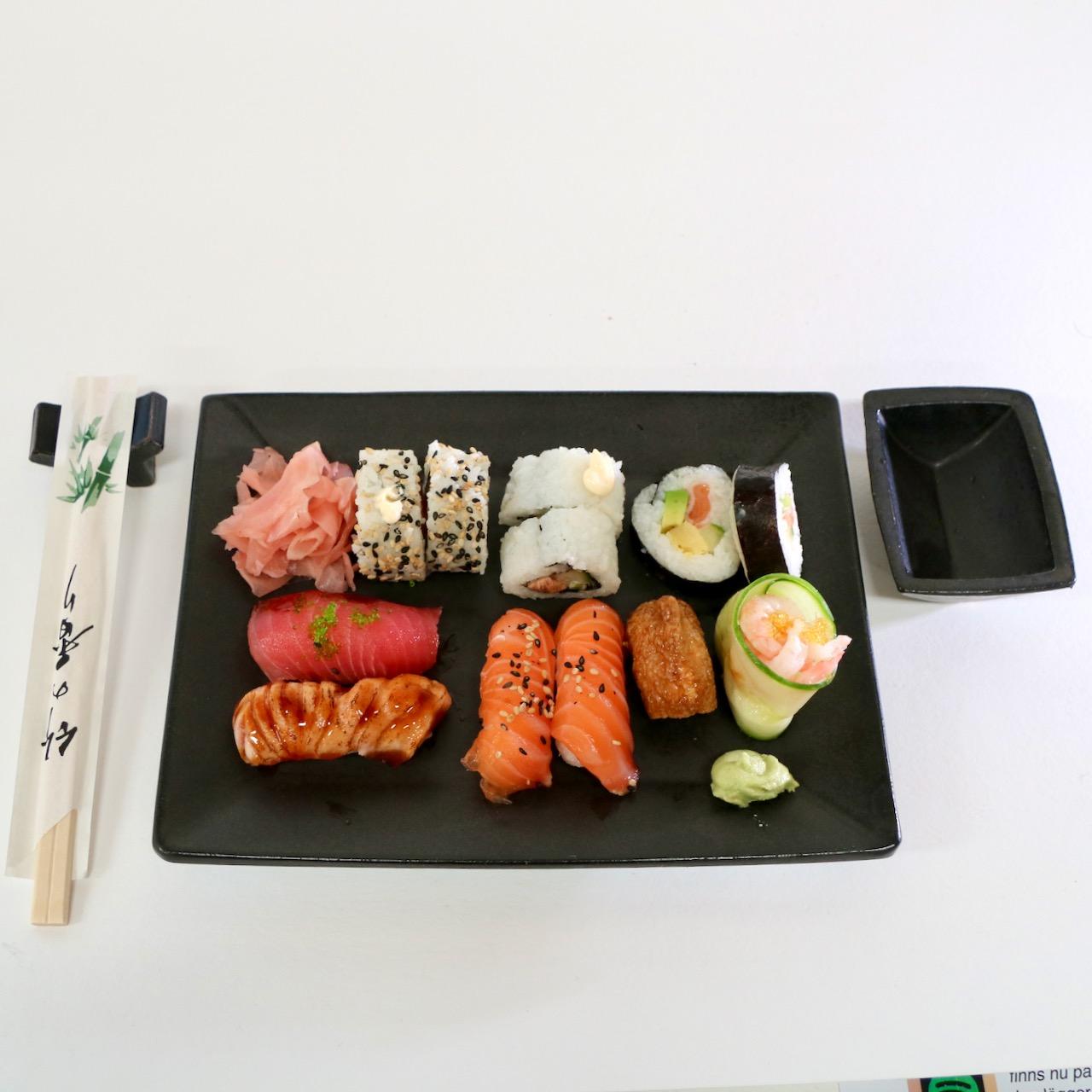 Sushi kit svart