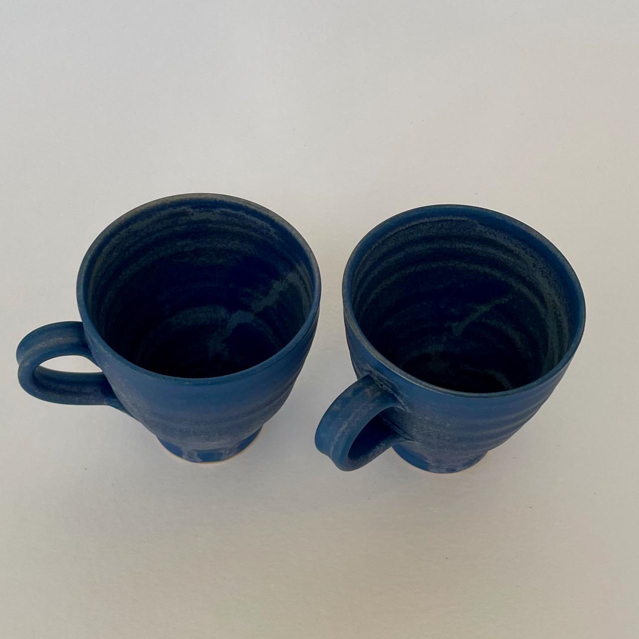 Kaffekopp blå