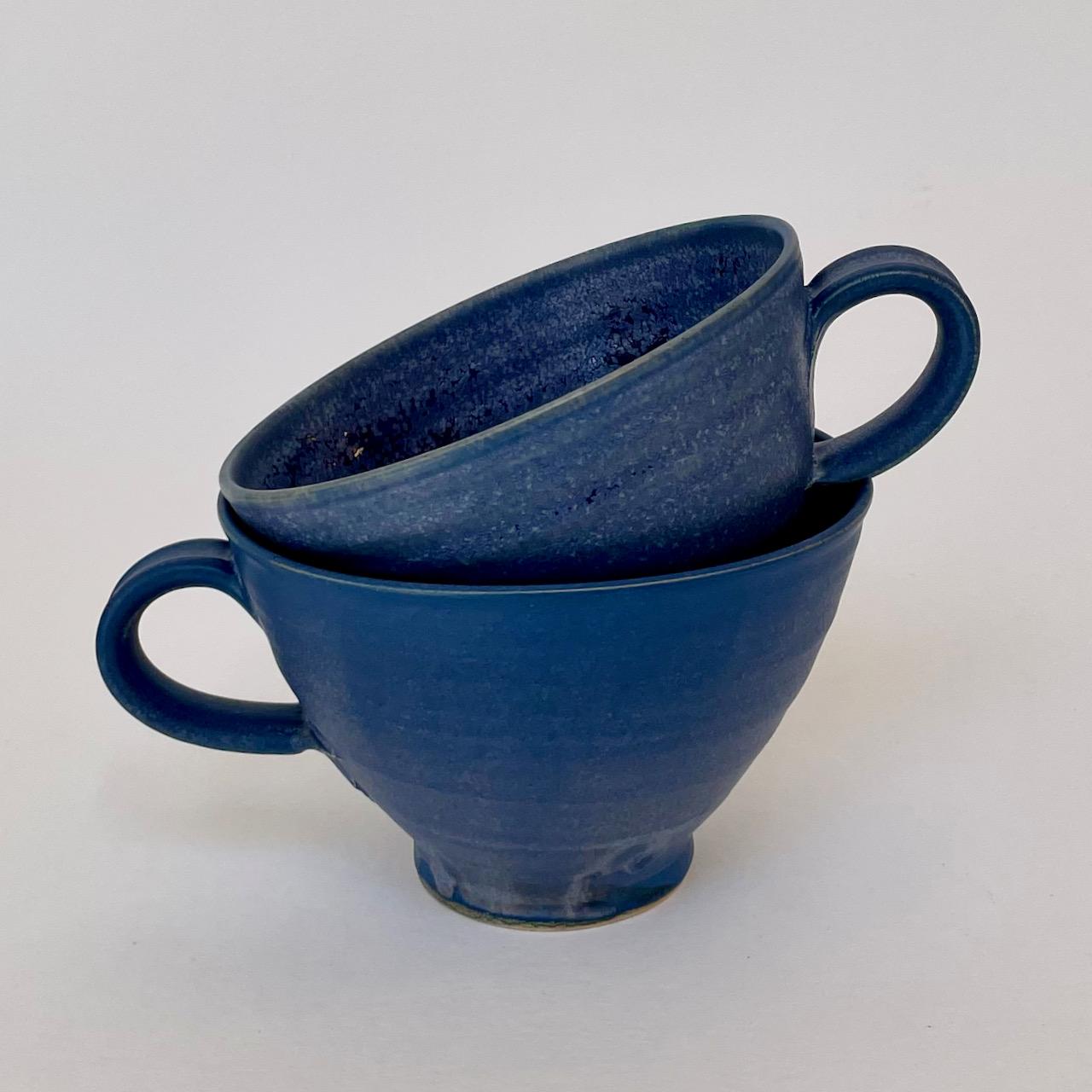 Tekopp blå