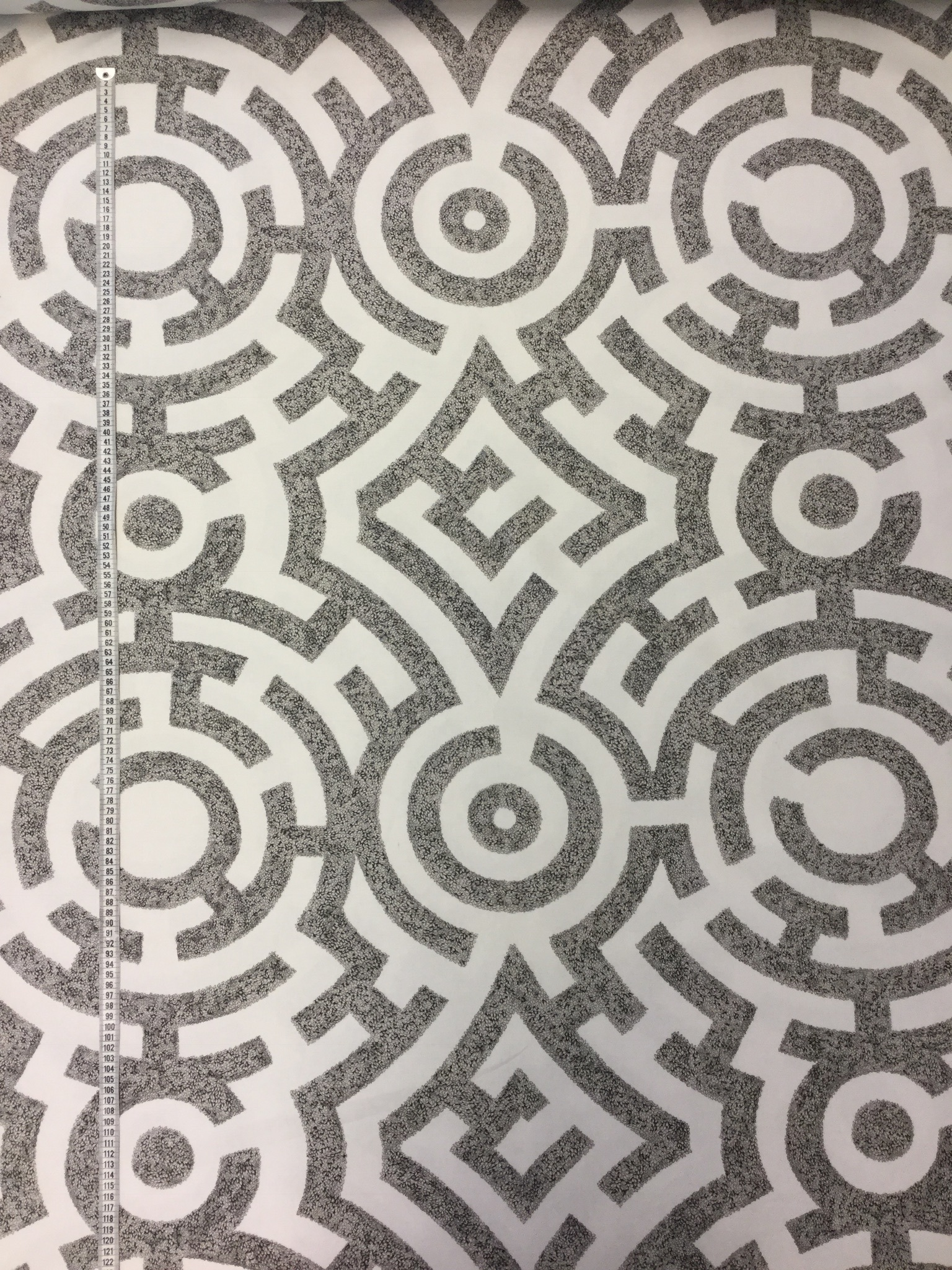 Trädgårdslayrint labyrint trädgård tyg hemtextil Tyglust