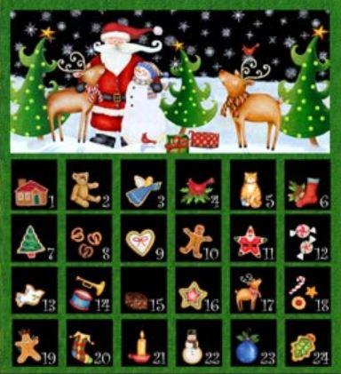 25 days till christmas vy