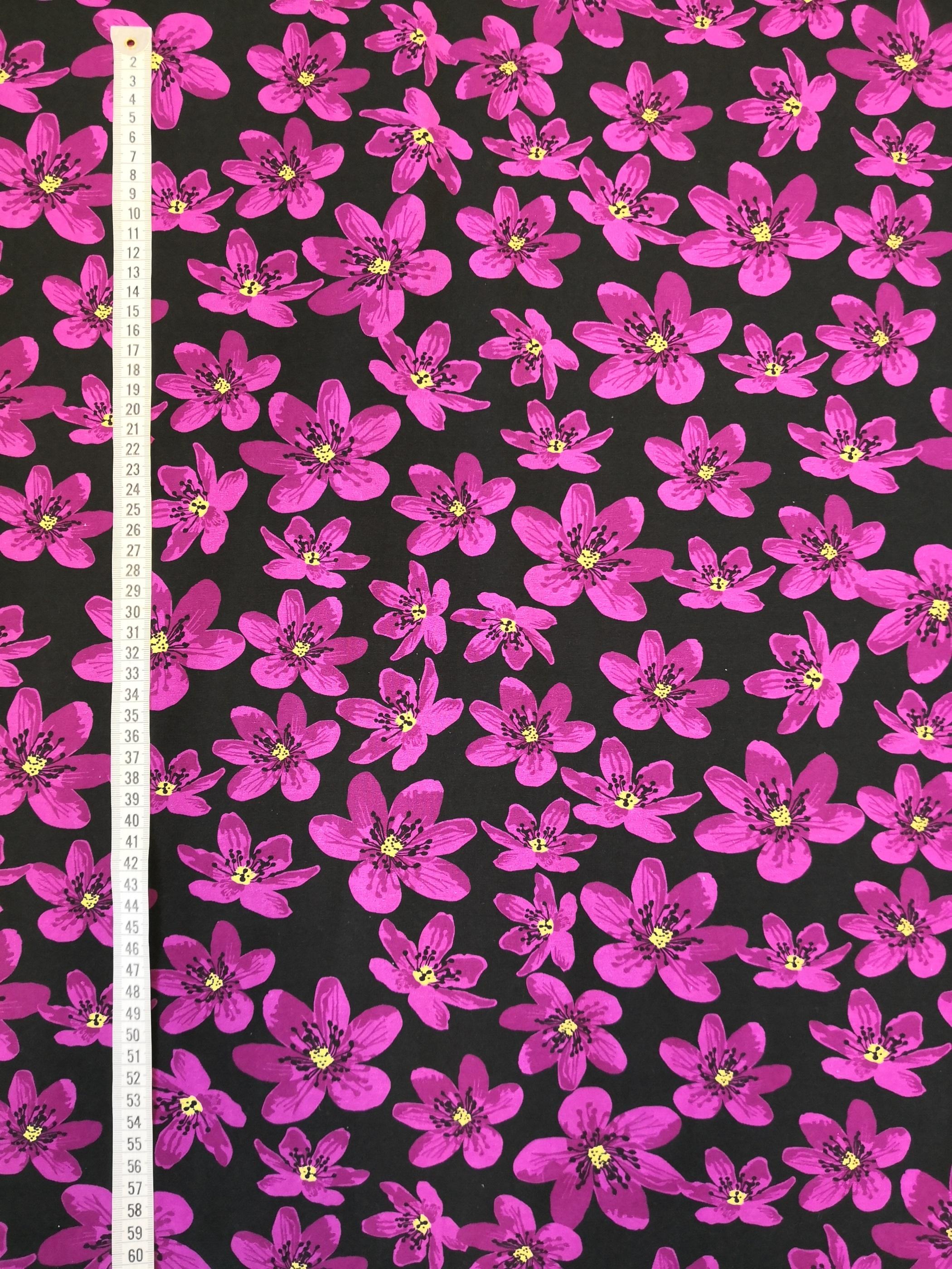 anemone tyglust, tyg, trikå, mode, sy, sömnad, textil design, metervara, tygaffär