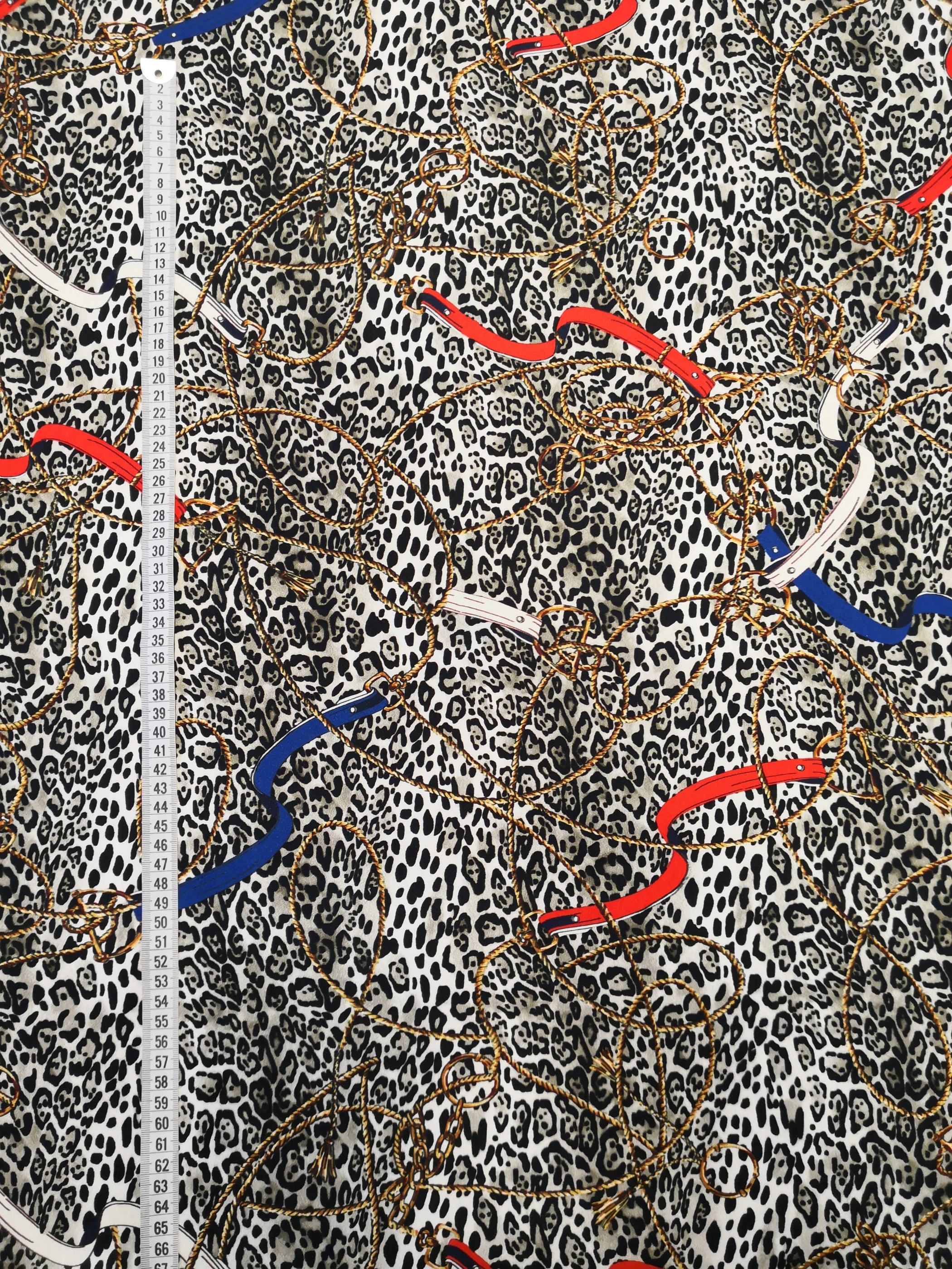 leopard och kedjor vy