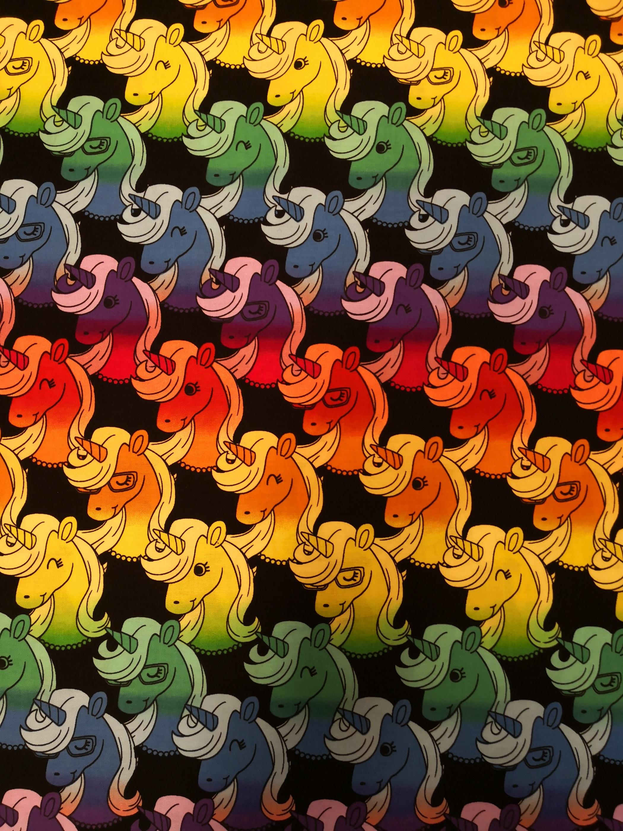 Regnbågs unicorn