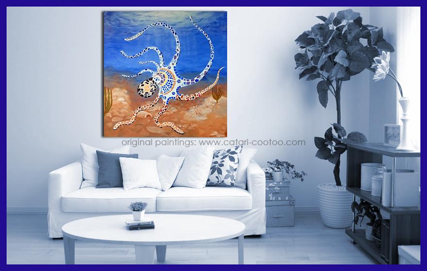 Acrylic - 100 x 100 cm