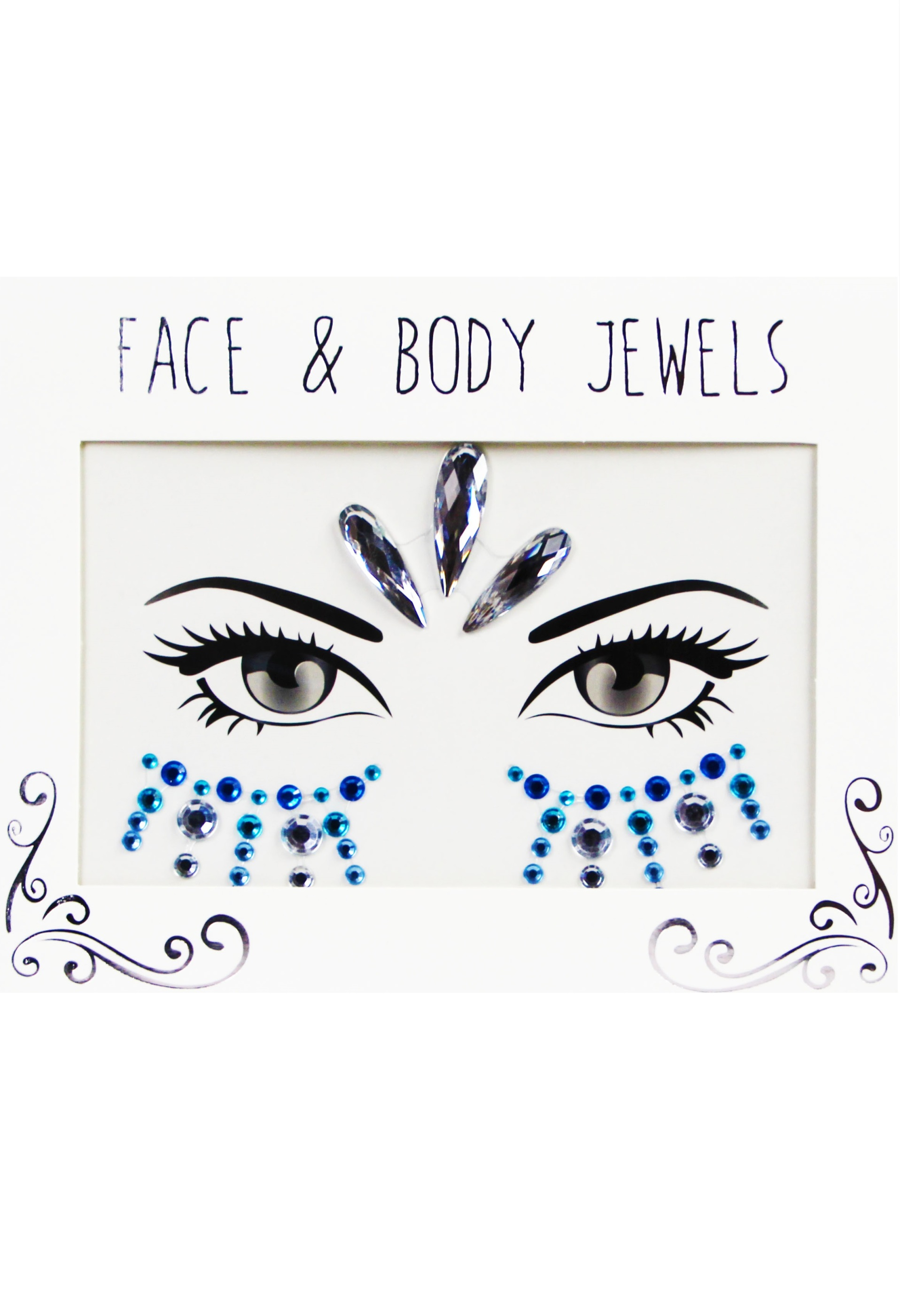 Face & Bodygems  Mermaid Drops