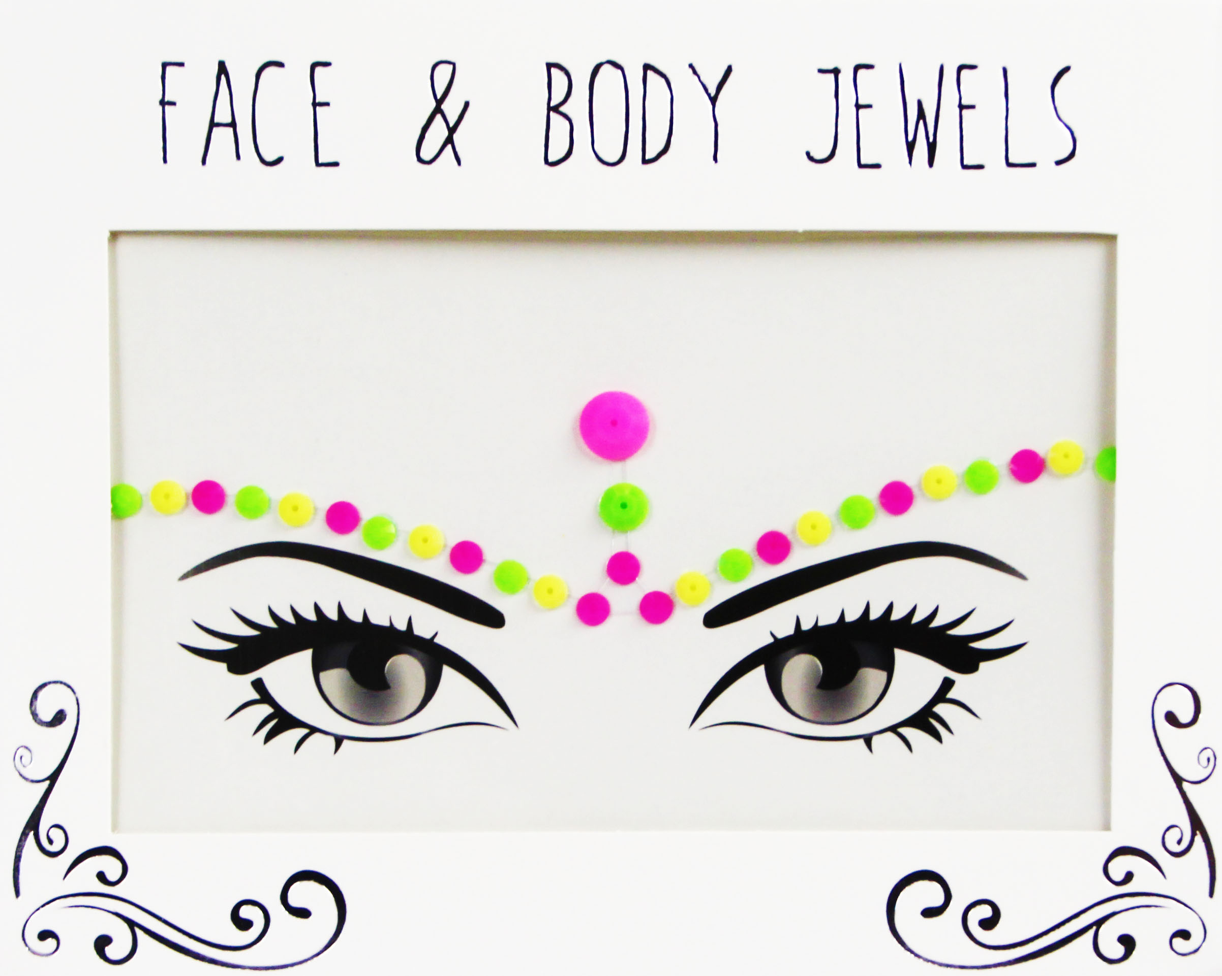 Face & Bodygems Neon Angel